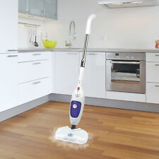 Easy Steam Pro Sonic Green White Vibrating Steam Mop System Powerful 1300W