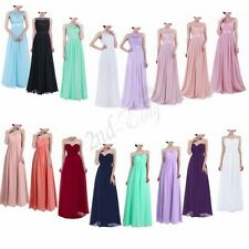 Women Long Chiffon Evening Formal Party Cocktail Bridesmaid Prom GownMaxi Dress