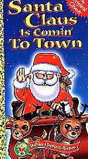 NEW VHS Santa Claus Is Comin' to Town  Factory Sealed MIB Free Shipping !