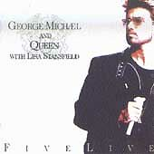Five Live MICHAEL,GEORGE & QUEEN Audio CD