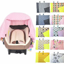 Baby Cotton Sleeping Blanket Cover Wrap For Car Seat Cradle Bassinet Stroller