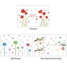 Cute Reusable Wallpaper Art Decal Room Decor  Wall Sticker Kids Wall Decals C0H1