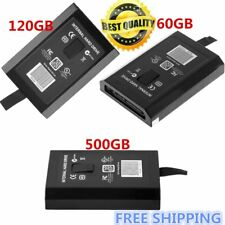 HDD Hard Drive Disk Disc Kit FOR XBOX 360 Internal Slim Black 60GB/120GB/50 DK