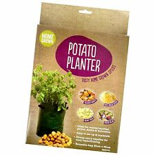 Potato Planter Bag Grow Your Own potatoes Spud Sack Vegatable Patio Tub Pack
