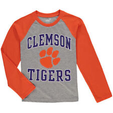 Clemson Tigers Youth Constant Raglan Long Sleeve T-Shirt - NCAA
