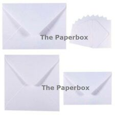 Ice White Pearlescent Luxury Envelopes - choice of size & quantity