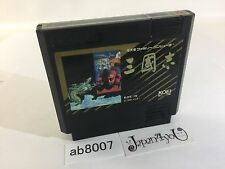 ab8007 Sangokushi Three Kingdoms NES Famicom Japan J4U