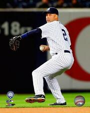 Derek Jeter New York Yankees MLB 2014 Action Photo QW075 (Select Size)