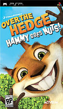 Brand New Sealed Over the Hedge Hammy Goes Nuts PSP Sony Playstation Portable