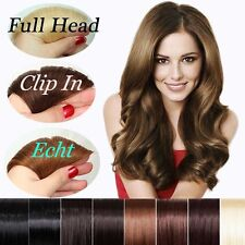 7/8 Pieces 100% Remy Human Hair Extension Clip In Full Head Wholesale US HQ307