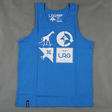 Lifted Research Group - LRG - The RC Mashup Tank Top in Electric Blue NWT LRG