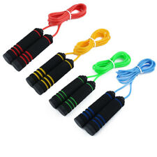 Cardio Sports Workout Training Speed Skipping Jump Rope Cable 2.7M