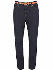Womens Per Una Marks Spencer M&S Lightweight Denim Straight Leg Indigo Jeans