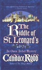 The Riddle of St. Leonard's (Owen Archer Mysteries) Robb, Candace Mass Market P
