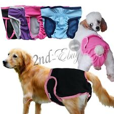 Washable Dog Physiological Diaper Female Dog Breed Pet sanitary Pants Underwear
