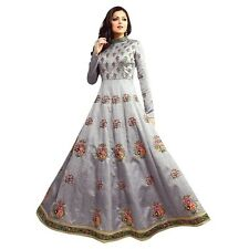 Designer Anarkali Full Length Salwar Kameez Suit Bollywood Dress India-LT-1008
