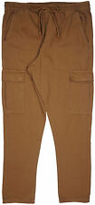 Elwood Cargo Pants Relaxed Straight Fit Military Brown Mens