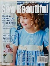 Sew Beautiful with Martha Pullen magazine with patterns Your Choice