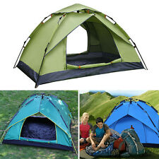 Latest Hiking Tent Single/Double Layer Auto Tent Durable Camping Travel Supply