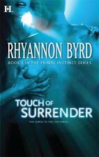 Touch of Surrender (Touch Trilogy) Byrd, Rhyannon Mass Market Paperback