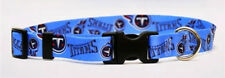CHOOSE SIZE - YELLOW DOG - MADE IN USA - NFL DESIGNER COLLAR - TENNESSEE TITANS