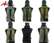 Camouflage Camo Tactical Outdoor Hunting Multifunctional Scrim Scarf Face Mask