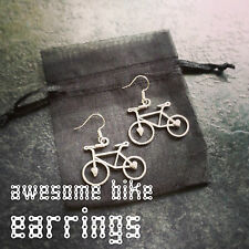 Bike Earrings Lovely Gift for Cyclists or Bike Rider Present Ear XT Necklace XC