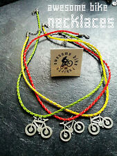 Bicycle Necklace Lovely Gift for Cyclists & Bike Rider AwesomeBike XT Birthday