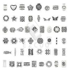 10-500pcs Tibetan Silver Spacer Loose Beads Charm Jewelry Findings 50 Style HC