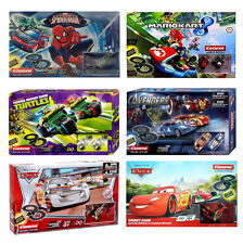 Carrera Slot Car Racing Tracks Spiderman TMNT Turtles Mario Kart Cars Available
