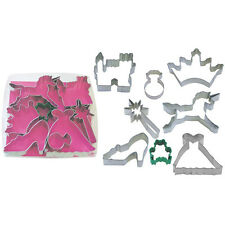 princess collection cookie cutter fairy tale storybook cookie cutters