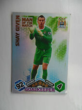 Match attax 2009 2010 (Orange backs) Man of the match cards teams M-W.