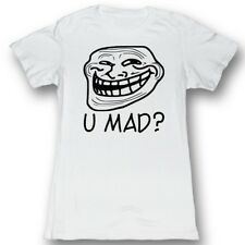 U Mad? You Mad Bro? Meme GIF Trending White U Mad? Juniors T-Shirt