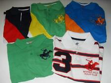 New Boy's Beverly Hills Polo Club Polo Shirts 4 Colors - Sz S, M, L - NWT $28-36