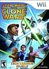Star Wars the Clone Wars: Lightsaber Duels - Nintendo Wii LucasArts Video Game