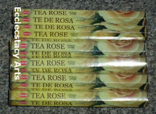 Hem Tea Rose Incense 20-40-60-80-100-120 Sticks You Pick Amount {:-)