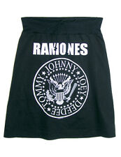 The RAMONES Presidential Seal Logo Printed PUNK ROCK Aline SKIRT XS, S, M, L, XL