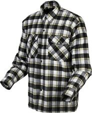 Scorpion Covert - Lined Classic Flannel Motorcycle Shirt - Black/Yellow