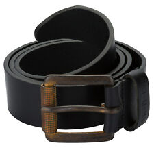 Mens Duck And Cover Serrated Buckle Leather Belt From Get The Label