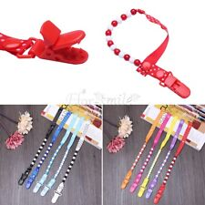 Pacifier Dummy Clip for Boys and Girls Baby Teething Soother Holder Chain Toy