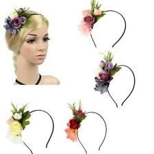 Beautiful Girls Flower Cluster Hair Band Floral Summer Beach Hair Headband
