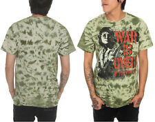 NEW The Beatles John Lennon War is Over! If you Want it Green Tie Dye Tee Shirt
