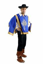 Men's Costume Set Musketeer Musketeer Pirate Baroque Soldier L050