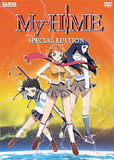 My-HiME - Vol. 1 (DVD, 2006, Collector's Edition; T-Shirt)