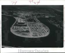 1964 Press Photo Dow Chemical Co.'s Texas Division in bend of Brazos River