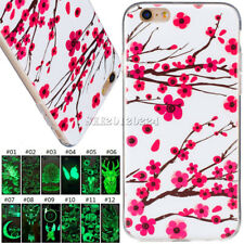 Soft TPU Protective Fluorescence Rubber Cover Case Skin For Apple iPhone 6/6S