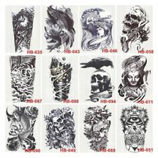 1× New Large Arm Body Waterproof Removable Fake Temporary Tattoo Sticker