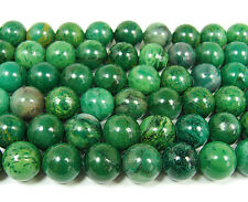 African Jade Smooth Round Gemstone Beads~Guaranteed