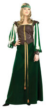 Adult Womens Maid Marion Renaissance Designer Collection Faire Medieval Costume
