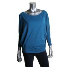 Velvet 5217 Womens Cotton Slub Off-The-Shoulder Pullover Top Shirt BHFO